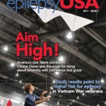 EpilepsyUSA 2011 issue 1 (cover)
