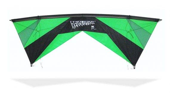 Revolution Kite EXP Green 2018 quad line kite