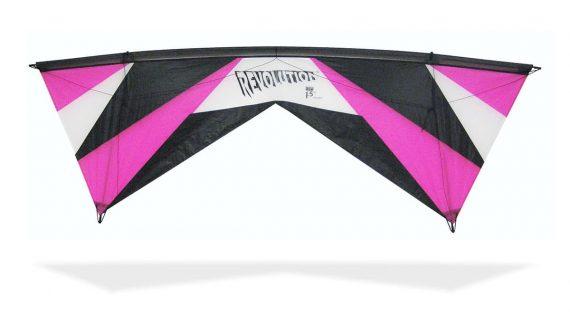 Revolution Kite EXP raspberry 2018 quad line kite