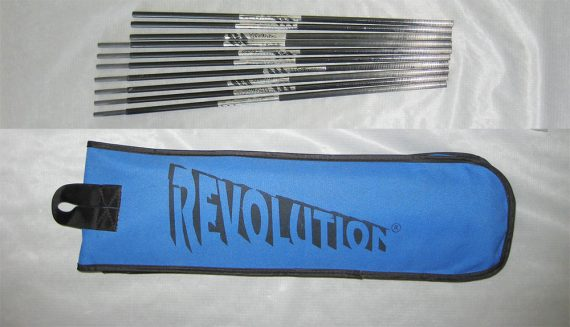 Revolution Kite travel graphite travel rods